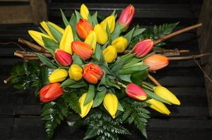 BOUQUET MULTICOLOR TULIPES BRETONNES
